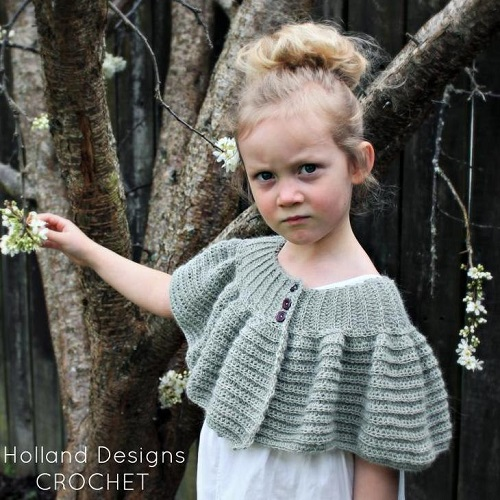 Austen Capelet Crochet Pattern