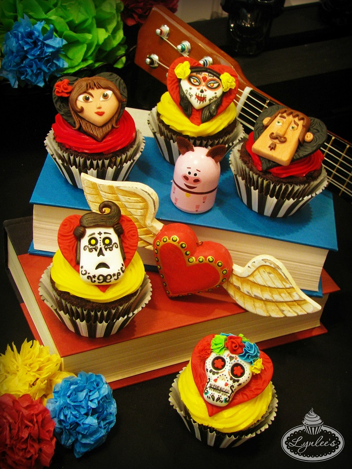 Book of Life Cupcake Toppers