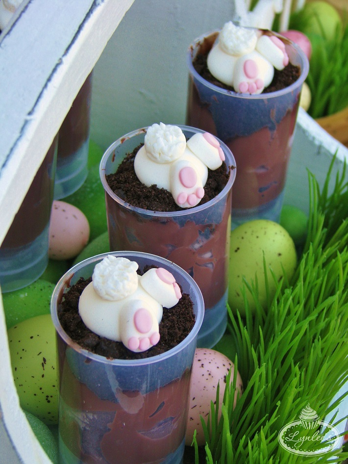 Bunny Fondant Toppers