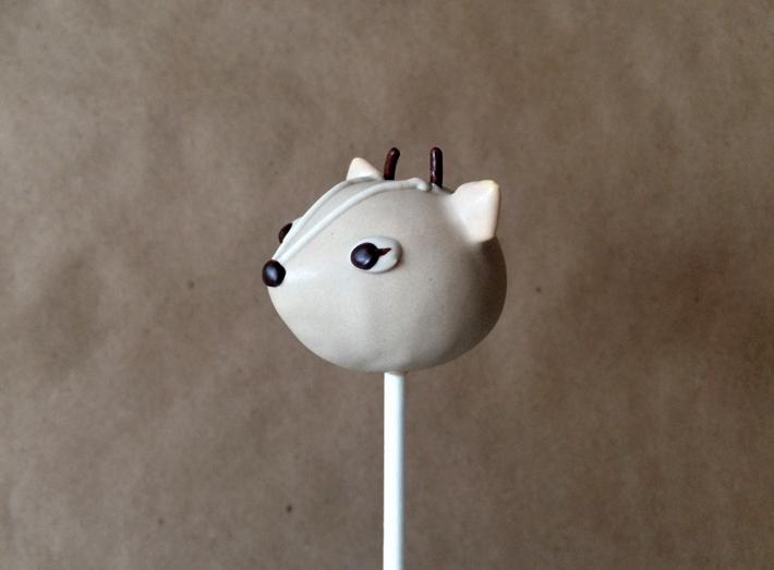 Deer cake pops