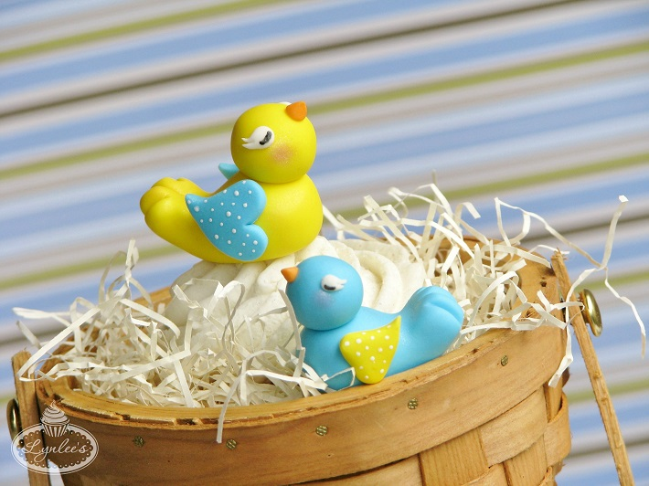 Fondant birds tutorial