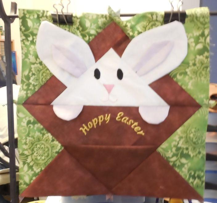 Hoppy Bunny Basket