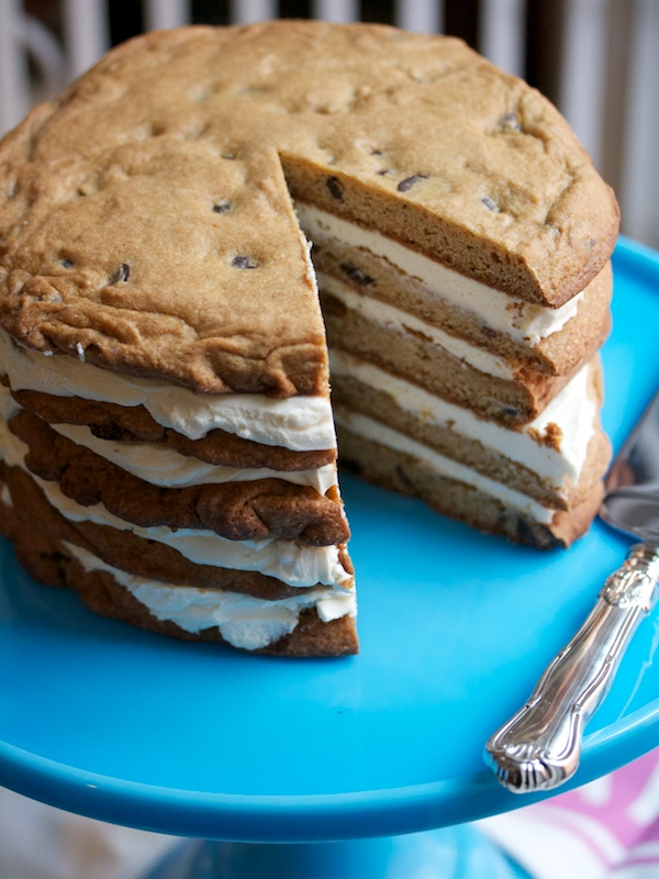 Cookie layer cake