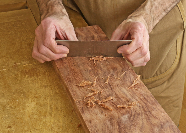 hand scraping