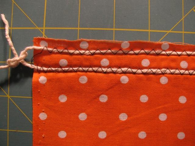 using yarn in sewing