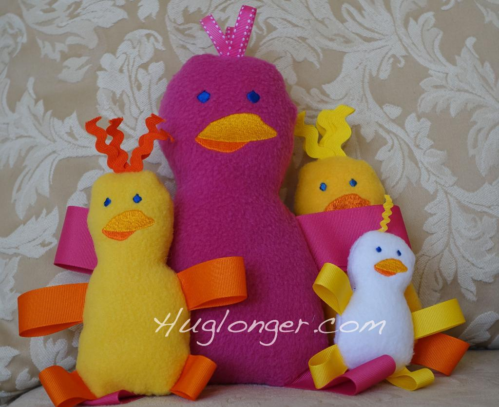 ITH Spring Chick stuffie