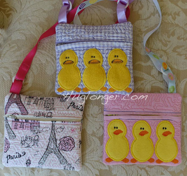 In the Hoop Zippered Childs Purse