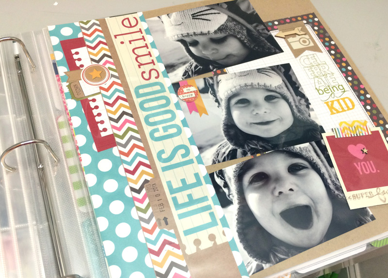 tips for beginner scrapbooking