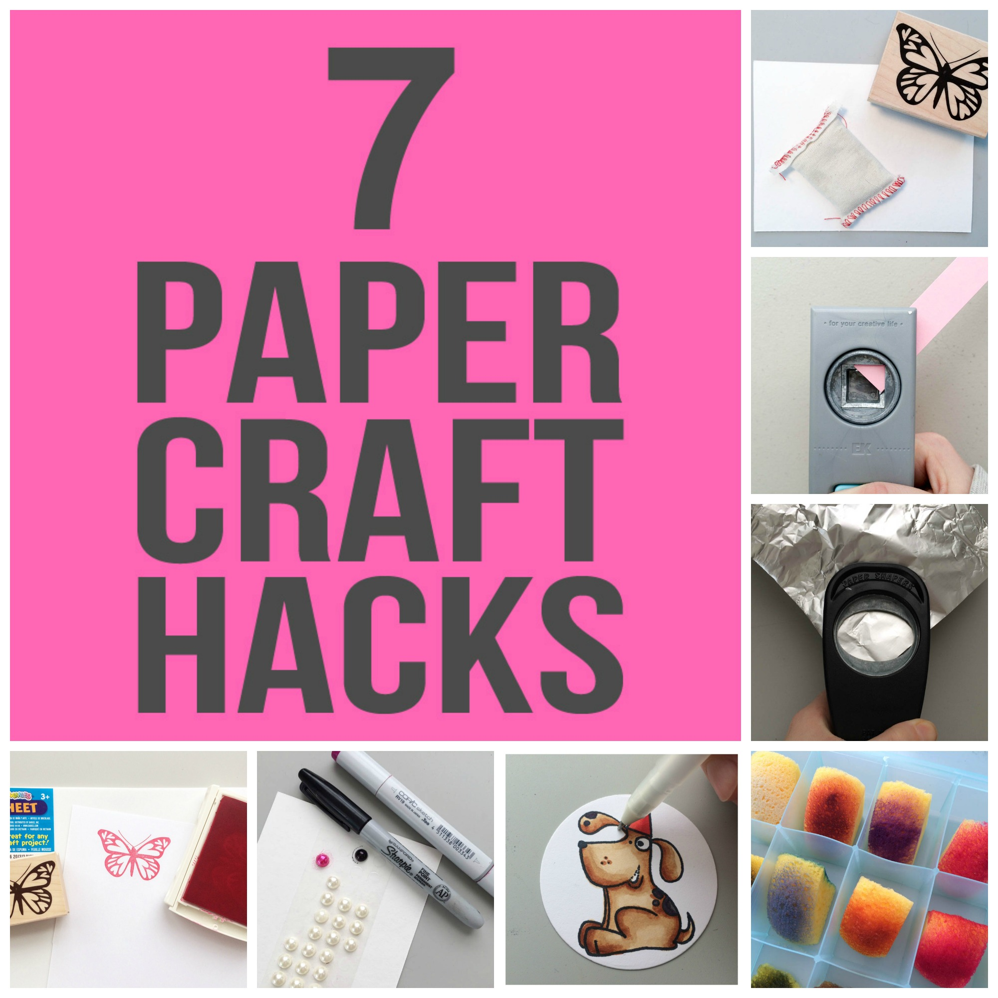 Paper Crafting Hacks