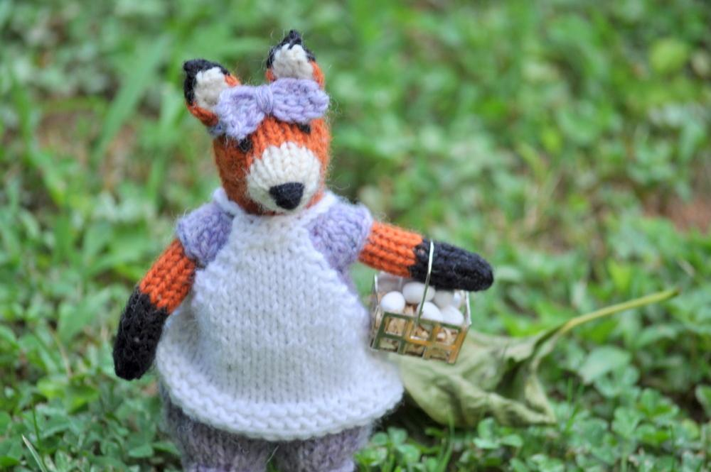 Little Fox Knitting Pattern