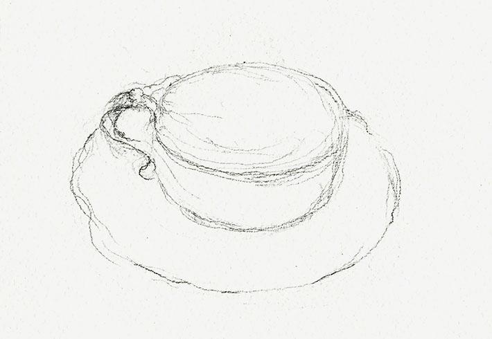Teacup sketch