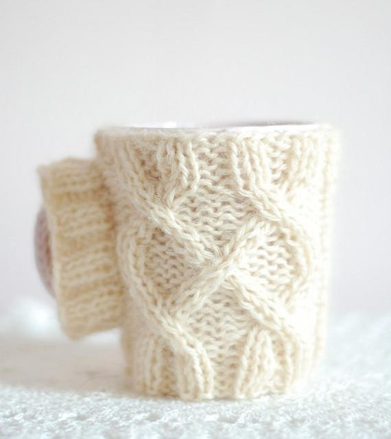 Mug Jumper Small Knitting Project