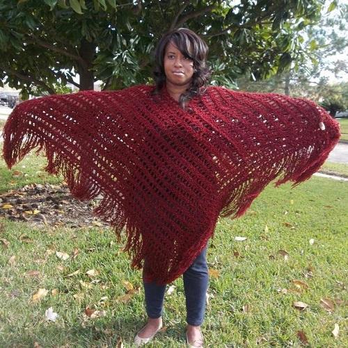 Poncho Poncho Crochet Pattern