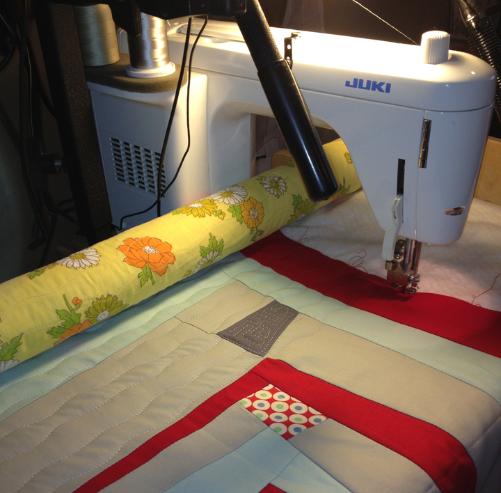 Quilting with a Machine Quilting Frame