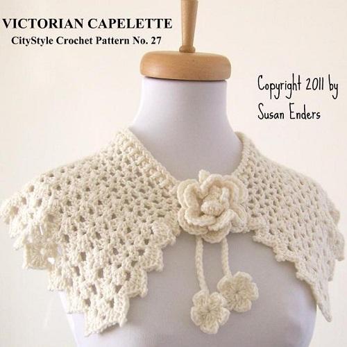 Victorian Capalet Crochet Pattern