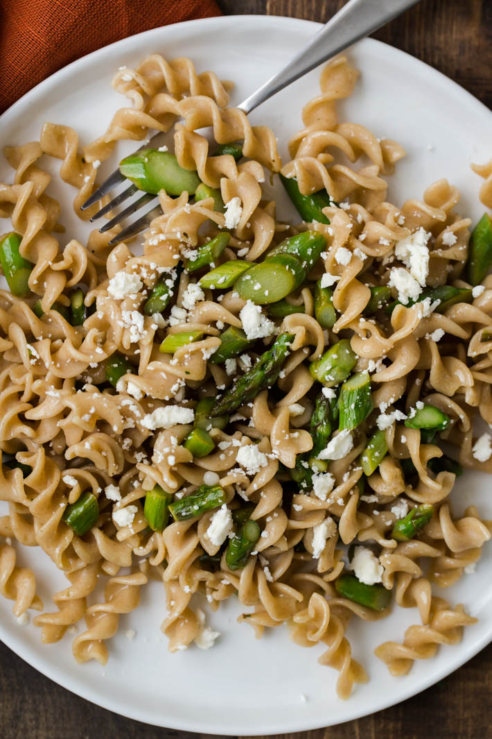 Asparagus Pasta with Butter Sauce