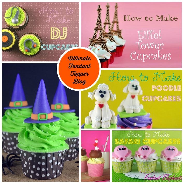 Bake Happy fondant topper blog