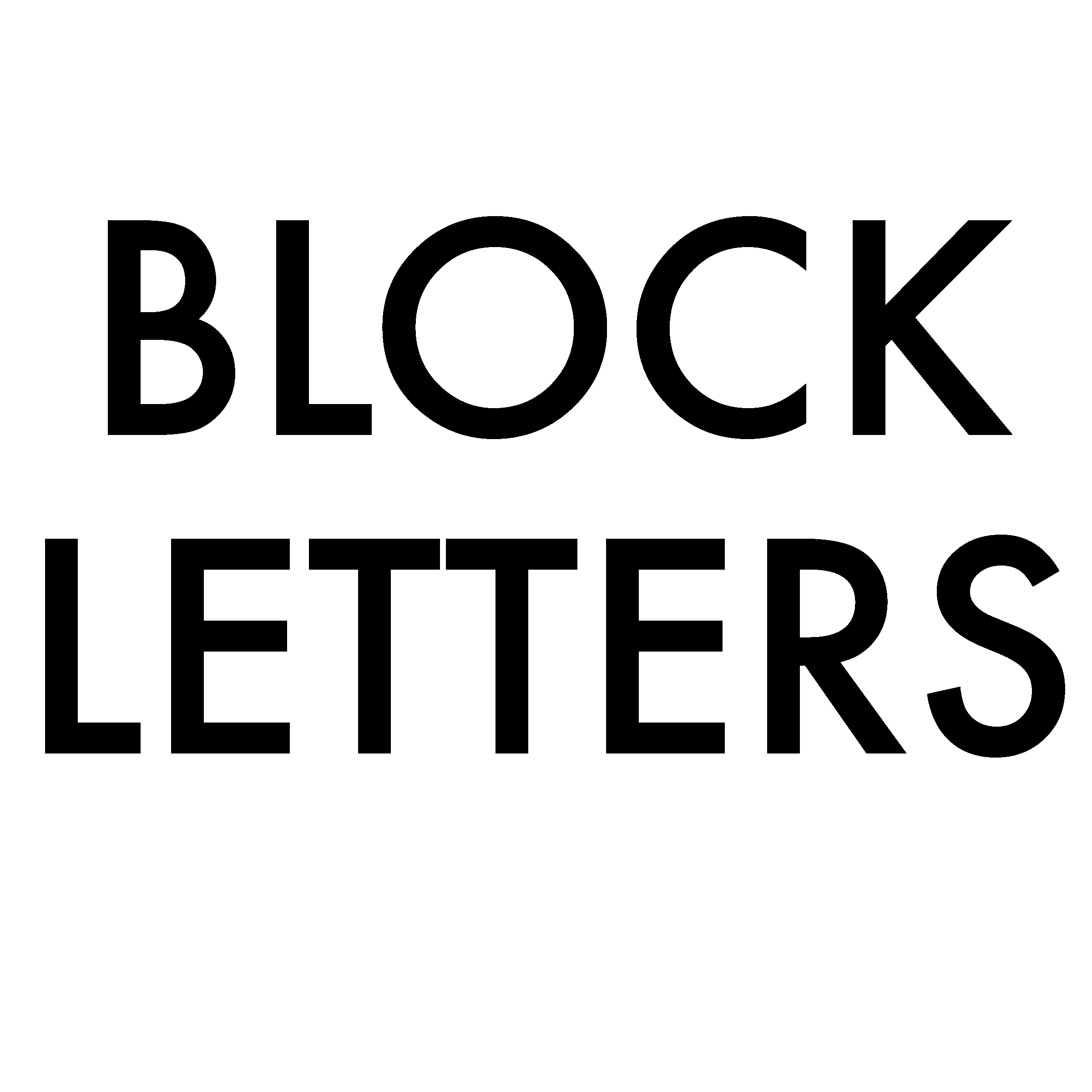 How To Draw Block Letters Handy Hacks