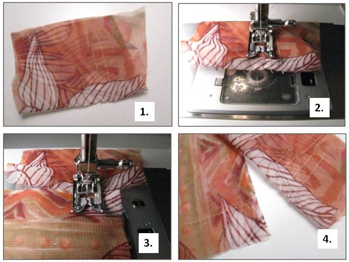 using tissue paper for sewing delicate fabric