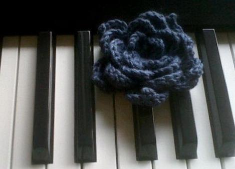 crochet lotus flower