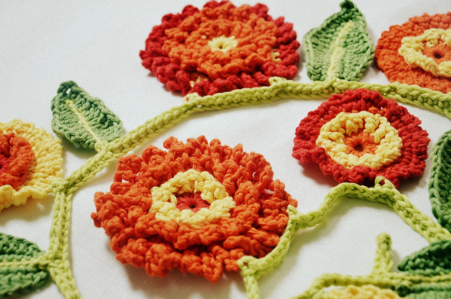 crochet marigold