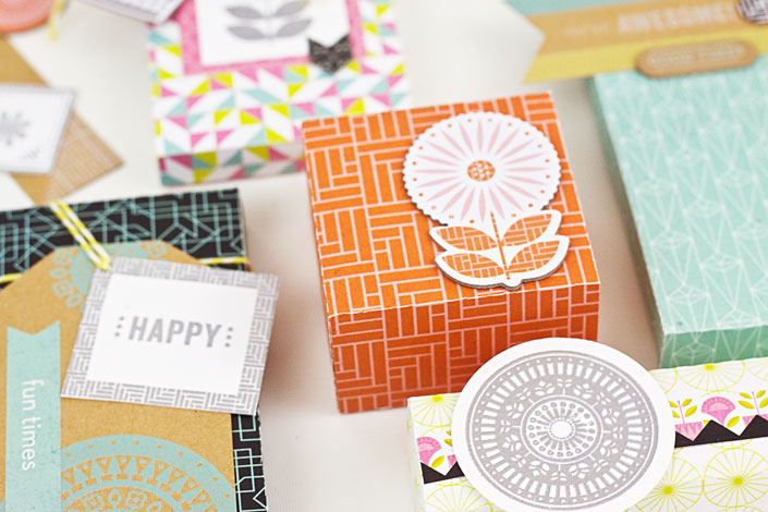 DIY Gift Tags and Packaging with Basic Grey Prism