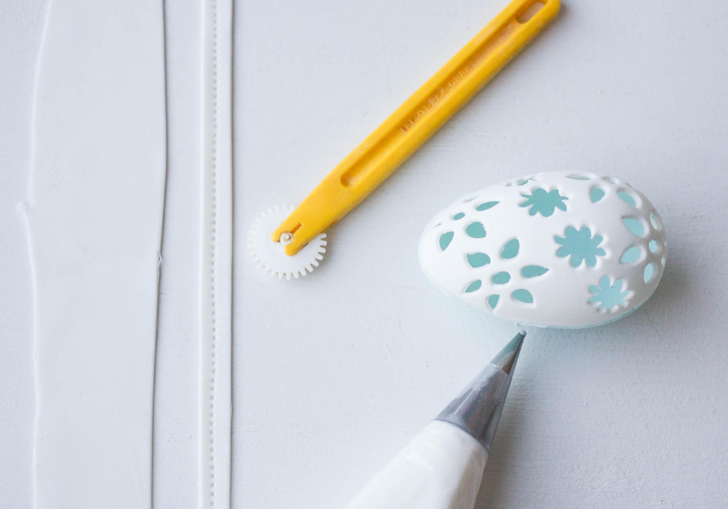 Adding Ribbon To Your Egg | Bluprint | Erin Gardner
