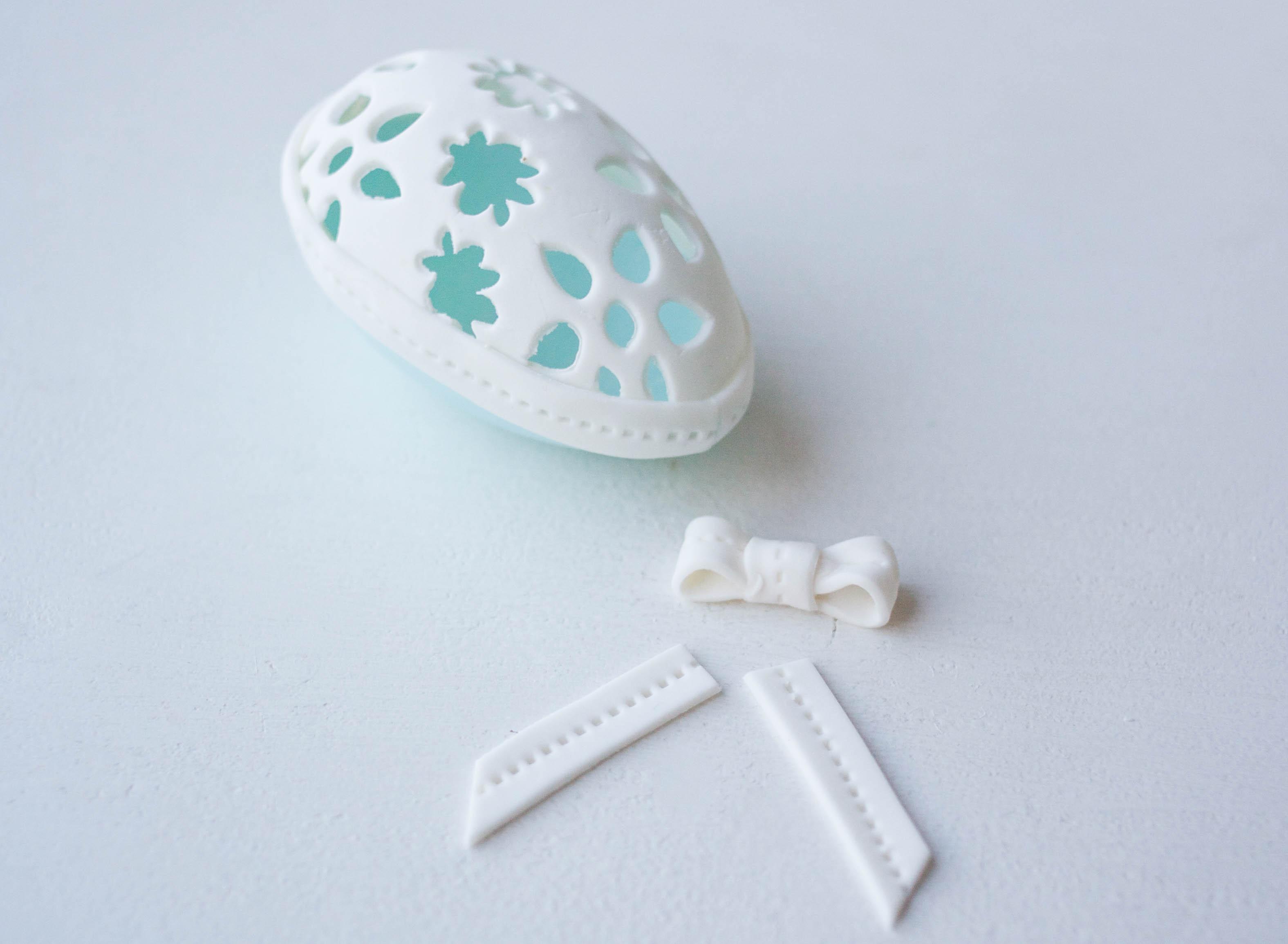 Adding Ribbon To Your Egg | Erin Gardner