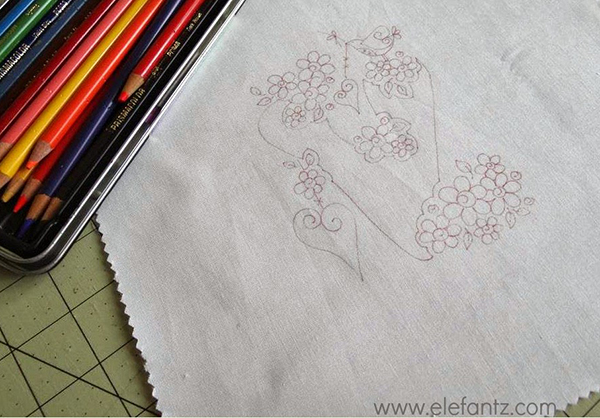 elefantz tracing hand embroidery pattern