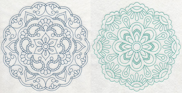embroidery library mendhi medallions