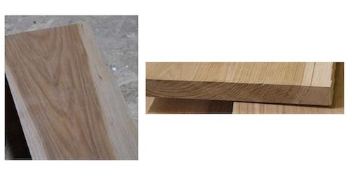 flat saw wood