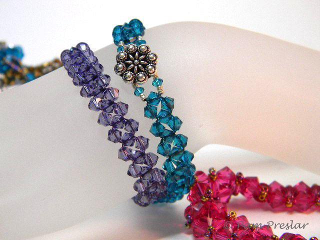 Crystal Bracelet with Swarovski Elements