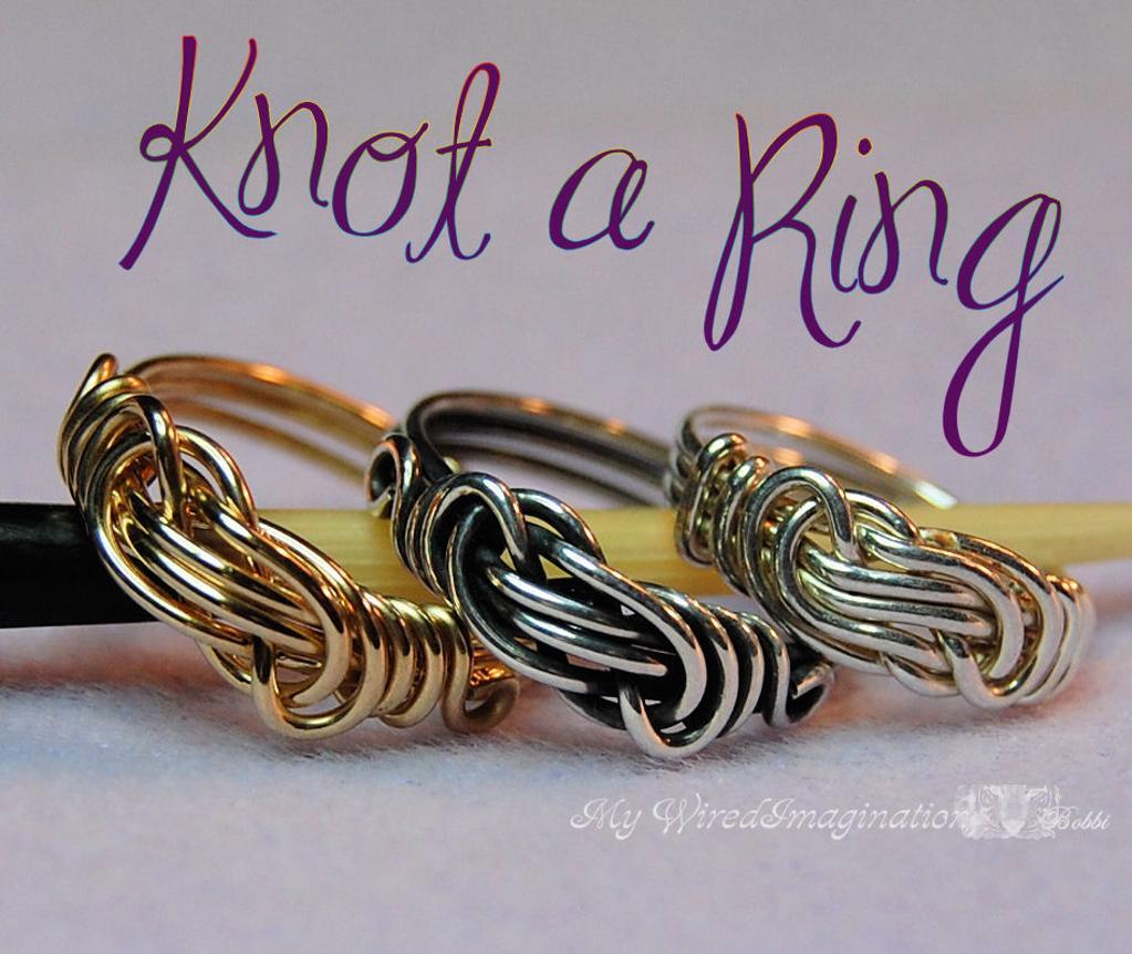 Knot a Ring Bluprint Pattern