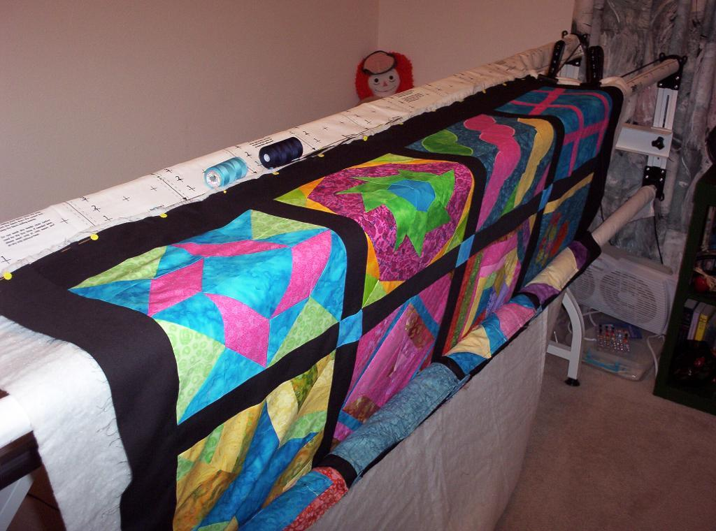 Quilting frames can make your next hand- or machine-quilted project much easier