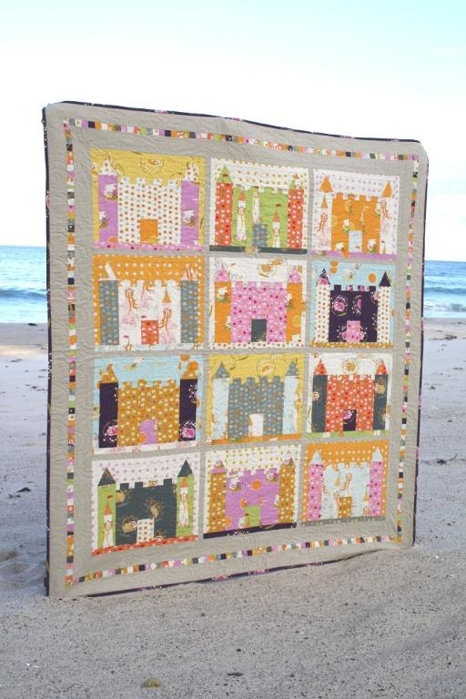 Sand Castles quilt