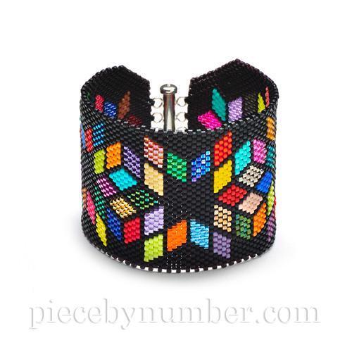 Delica Diamonds Bracelet Chart