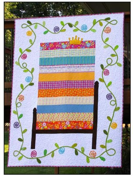 The Princess and the Pea Twin Quilt