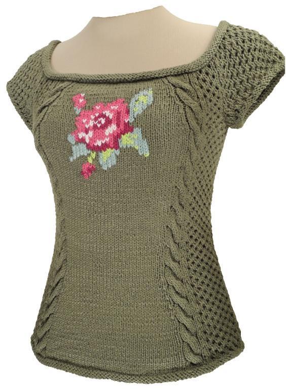 Gillian Tee knitting pattern