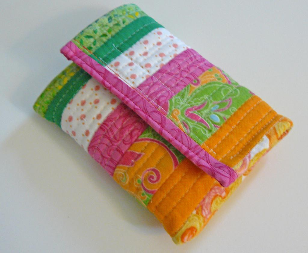 Quilted Cell Phone Holder
