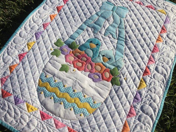 Happy Easter Quilt