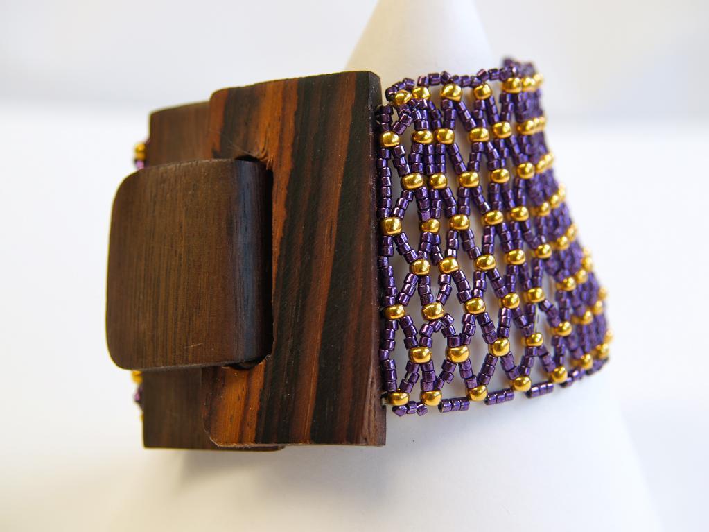 Wood-N-Elegance Bracelet jewelry tutorial