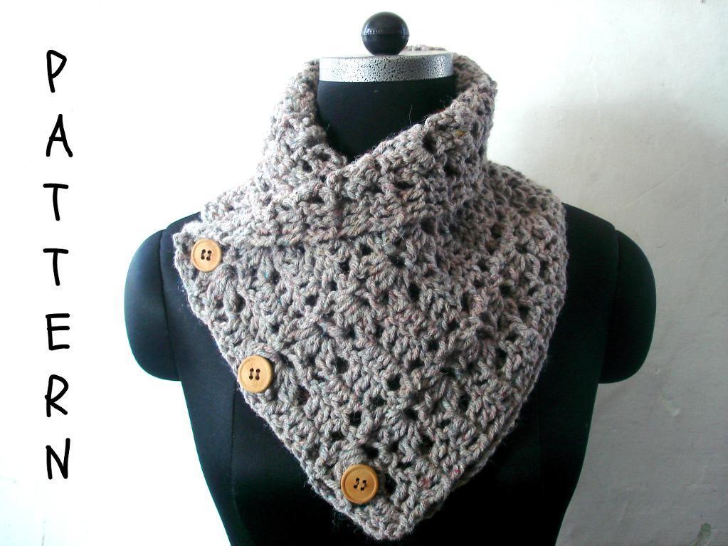 Chunky Cowl crochet pattern