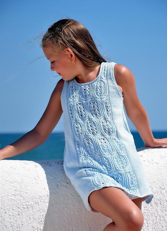 Blue Sea Beach knitting pattern