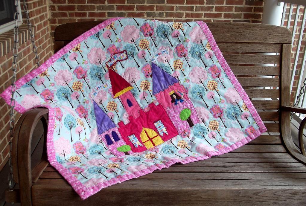 Princess Evelyns Castle Quilt