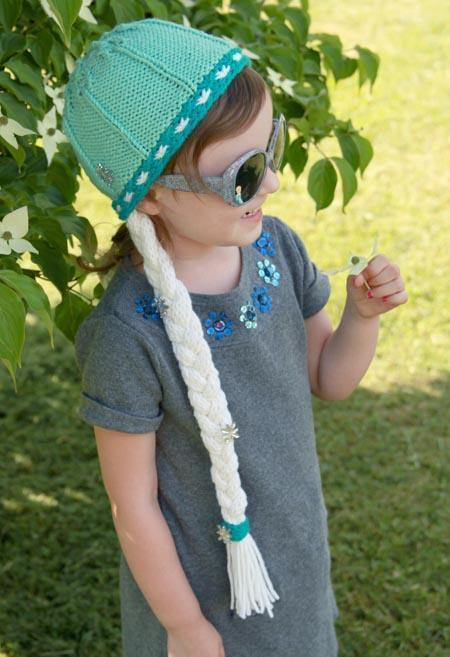 Frosted Princess Hat knitting pattern