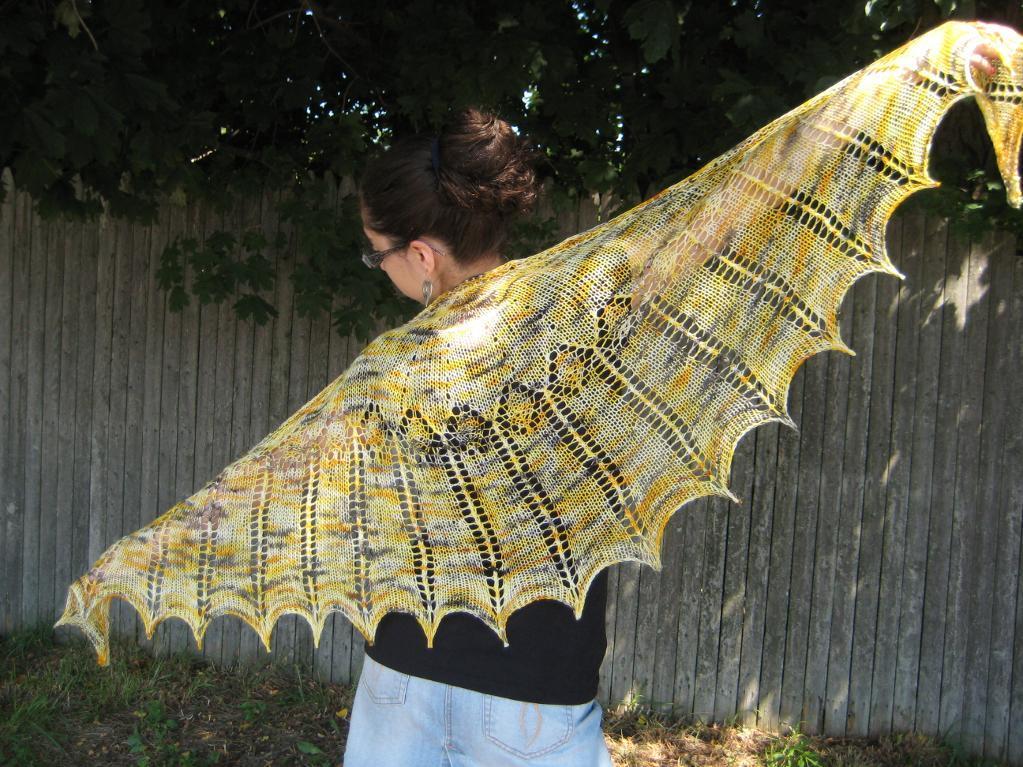 Solar Flare knitting pattern