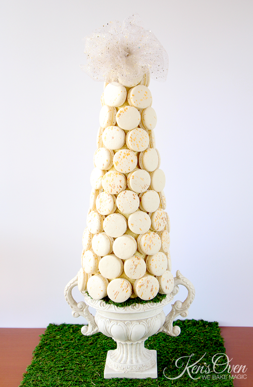 Macaron tower by Bluprint member Kendari Gordon