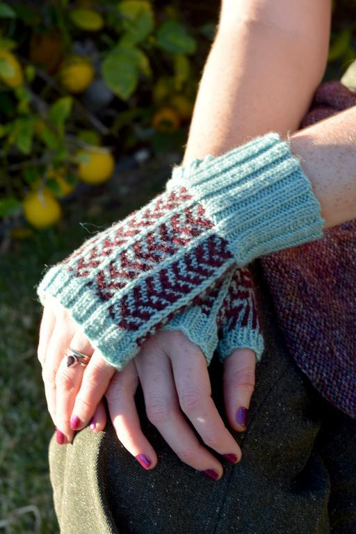 Nimble Fingers Fingerless Gloves