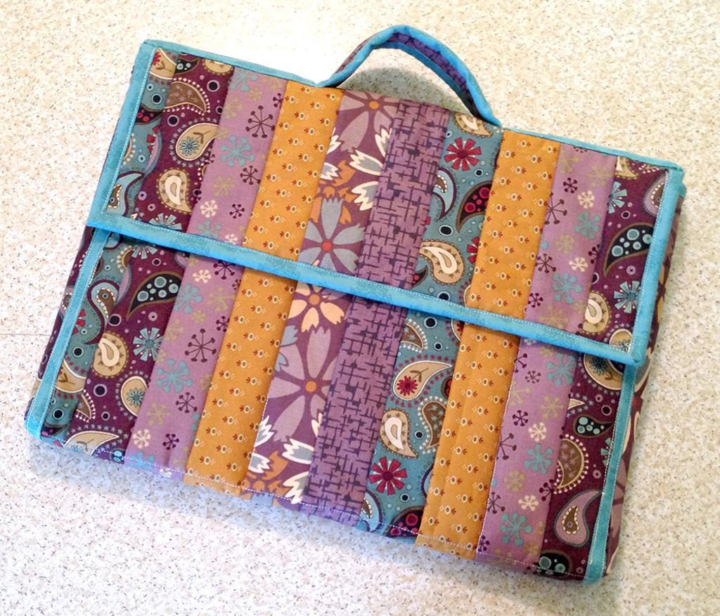 Quilted Laptop Totes