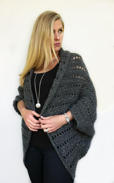Oversized Chunky Shrug Crochet Pattern